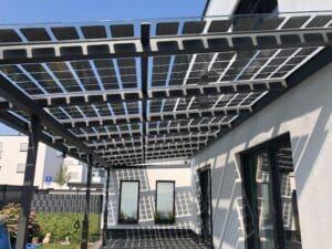 PV Terrassendach Bausatz