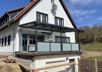 Terrassenüberdachung PV