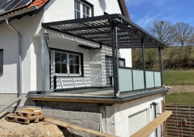 PV Terrassenüberdachung