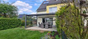 Solar Wintergarten geschlossen