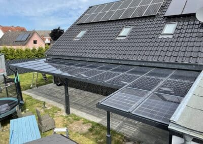Solar Terrassenüberdachung
