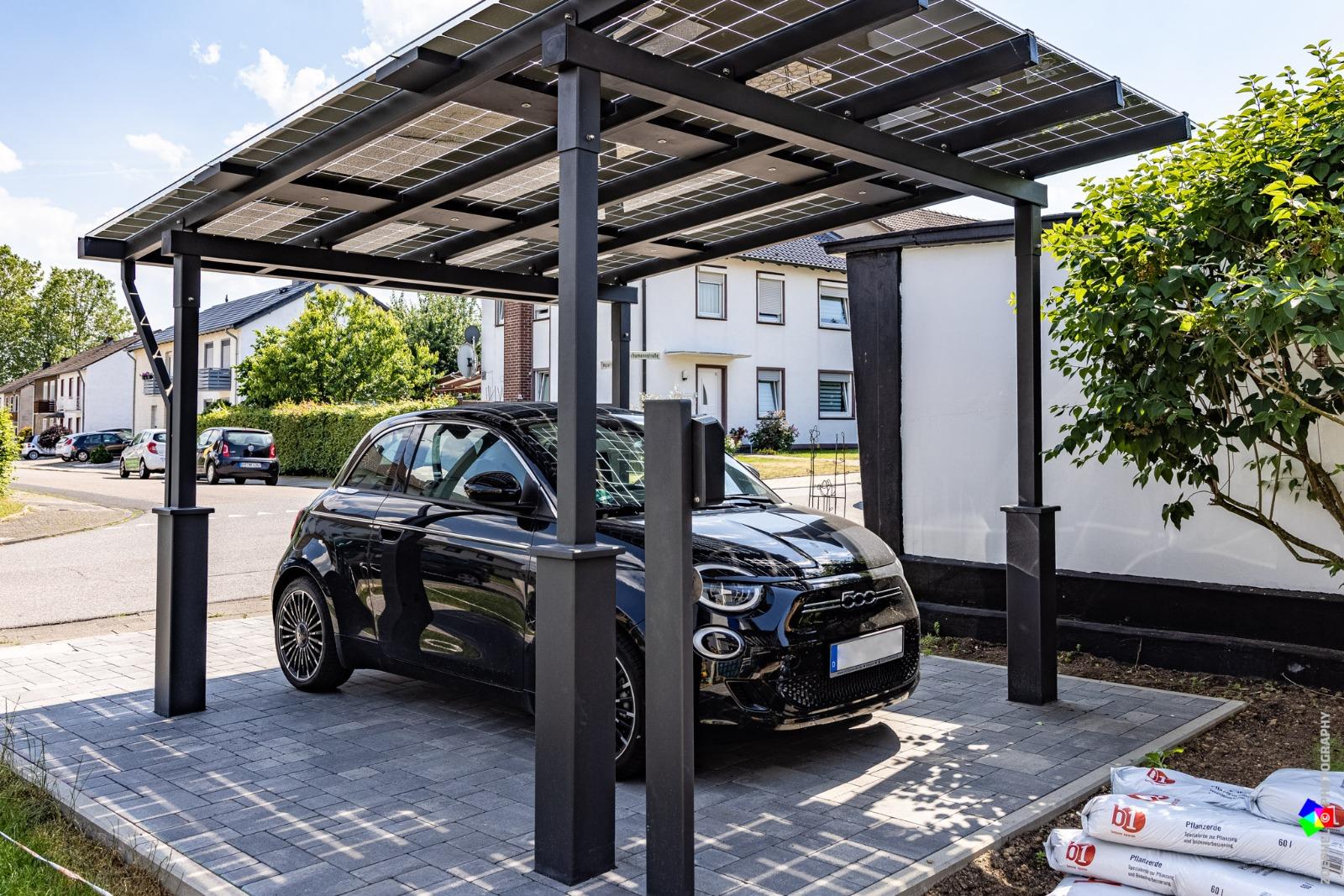 Solar Carport metall