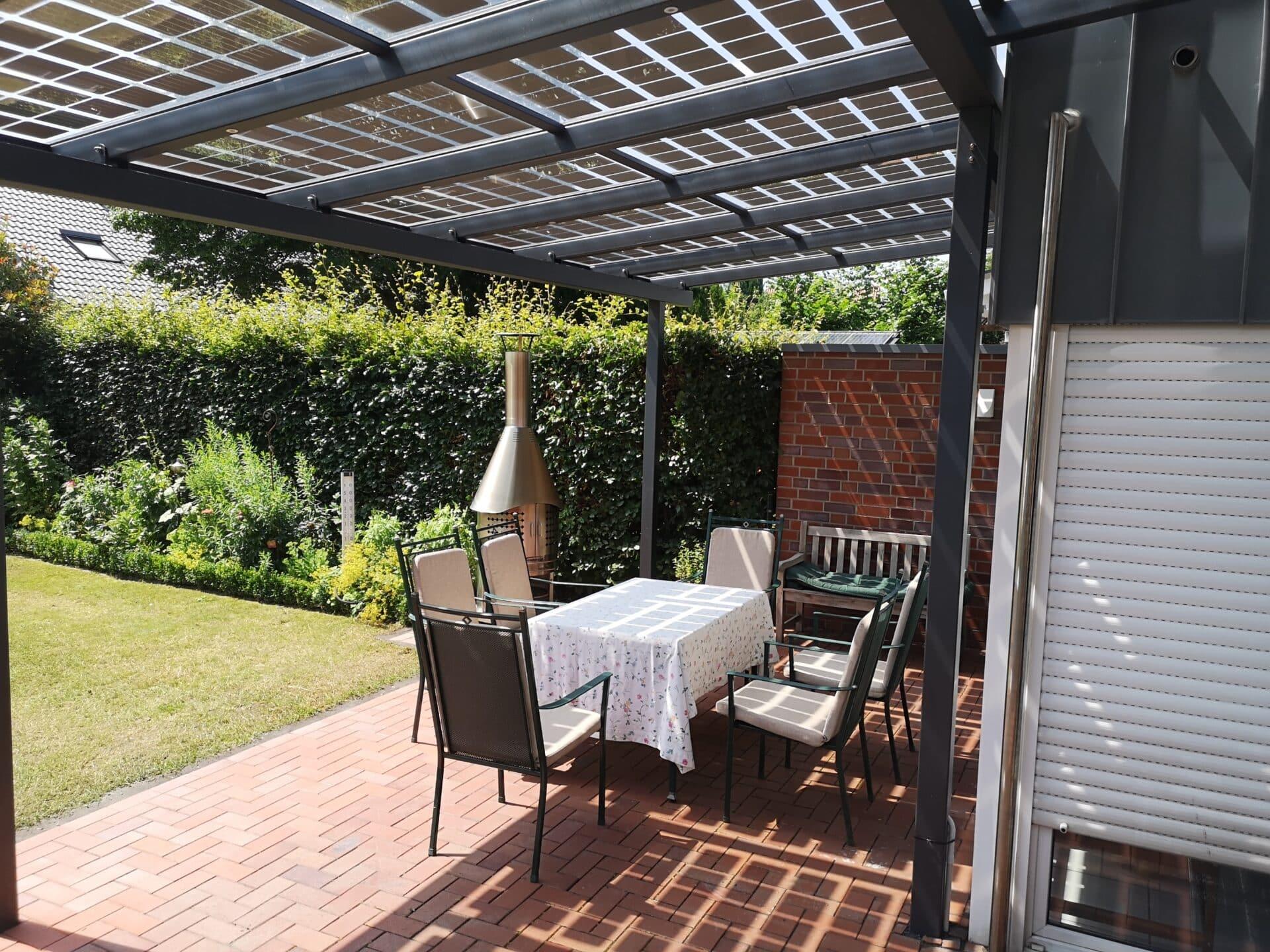 Solar Terrasseüberdachung